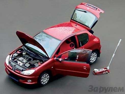 Тест-ремонт Peugeot 206: Парад-алле— фото 91539