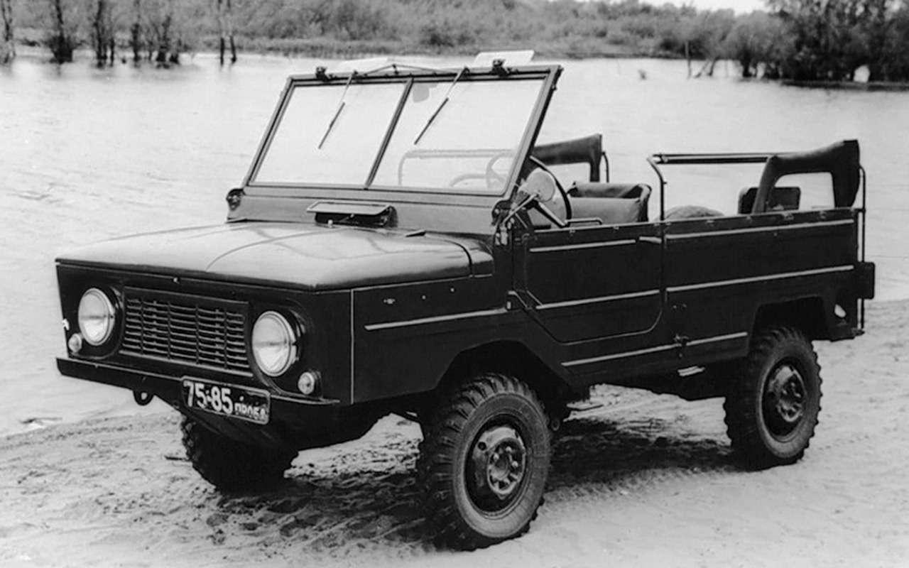 12советских внедорожников— помните, какие изних можно было купить?— фото 1009089