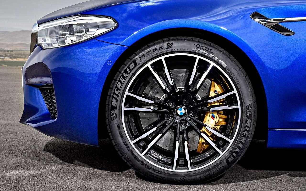 Новый BMW M5— теперь сполным приводом!— фото 876077