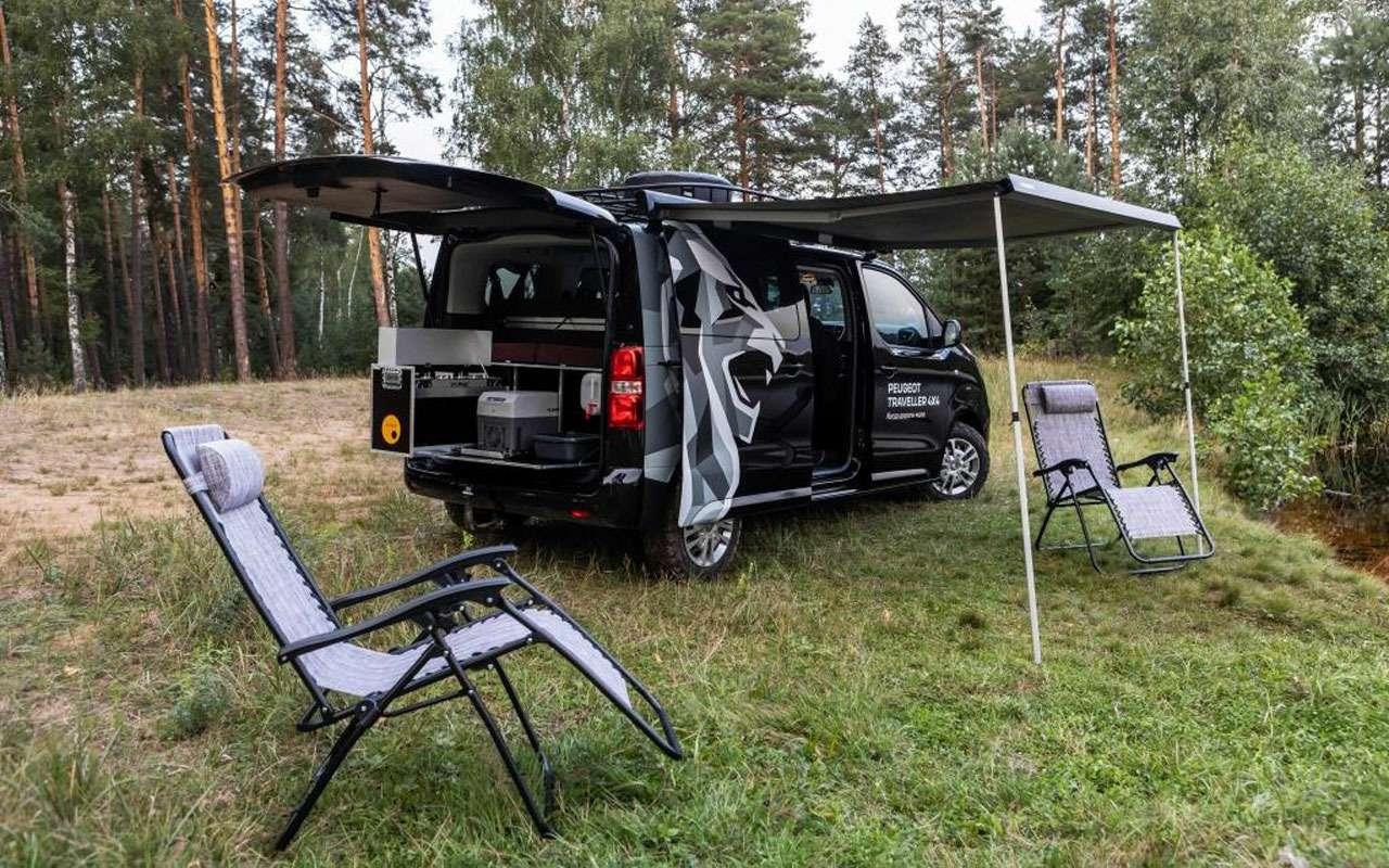 Peugeot привез вРоссию кемпер набазе Traveller— фото 1276440