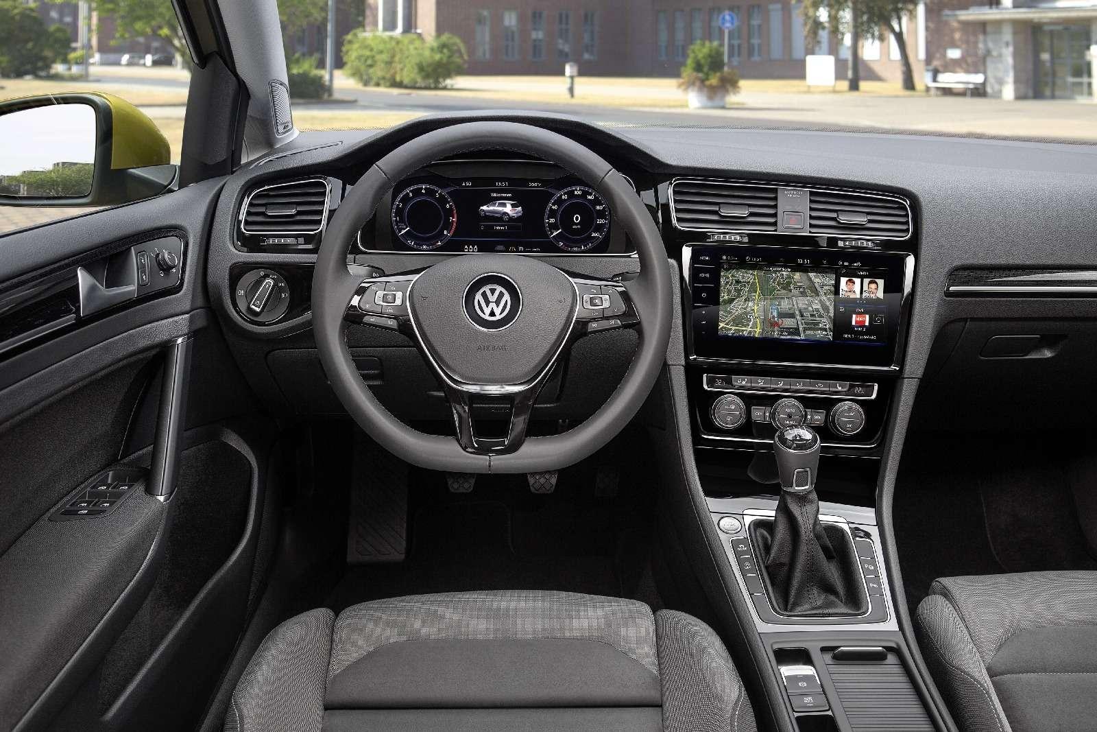 Дальнейшая оцифровка: Volkswagen представил обновленный Golf— фото 661697