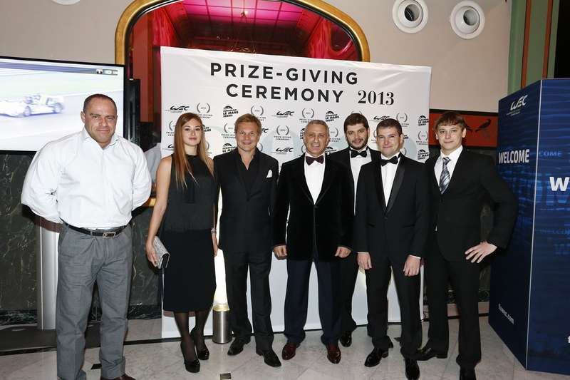 AUTO   WEC & ELMS PRIZE GIVING 2013