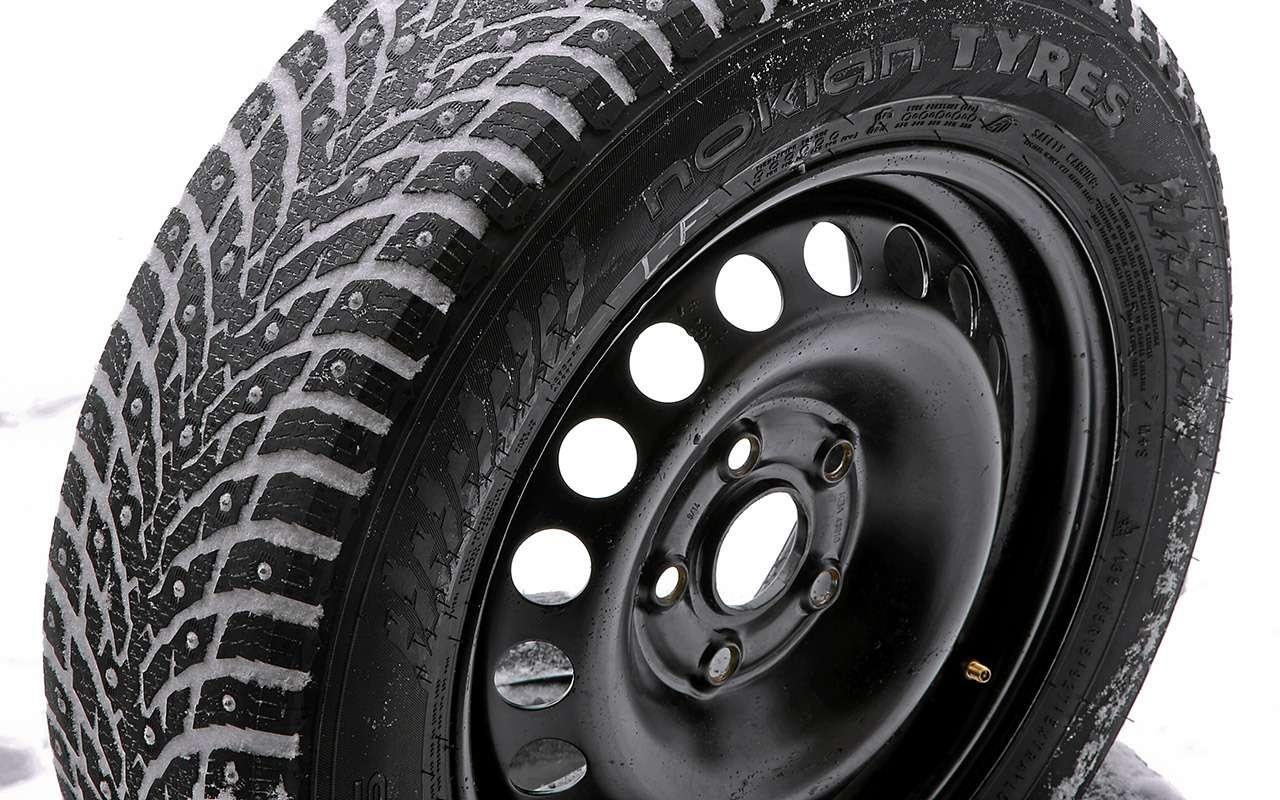 Шипованные шины 185/65R15для бюджетных автомобилей— тест «Зарулем»— фото 794353