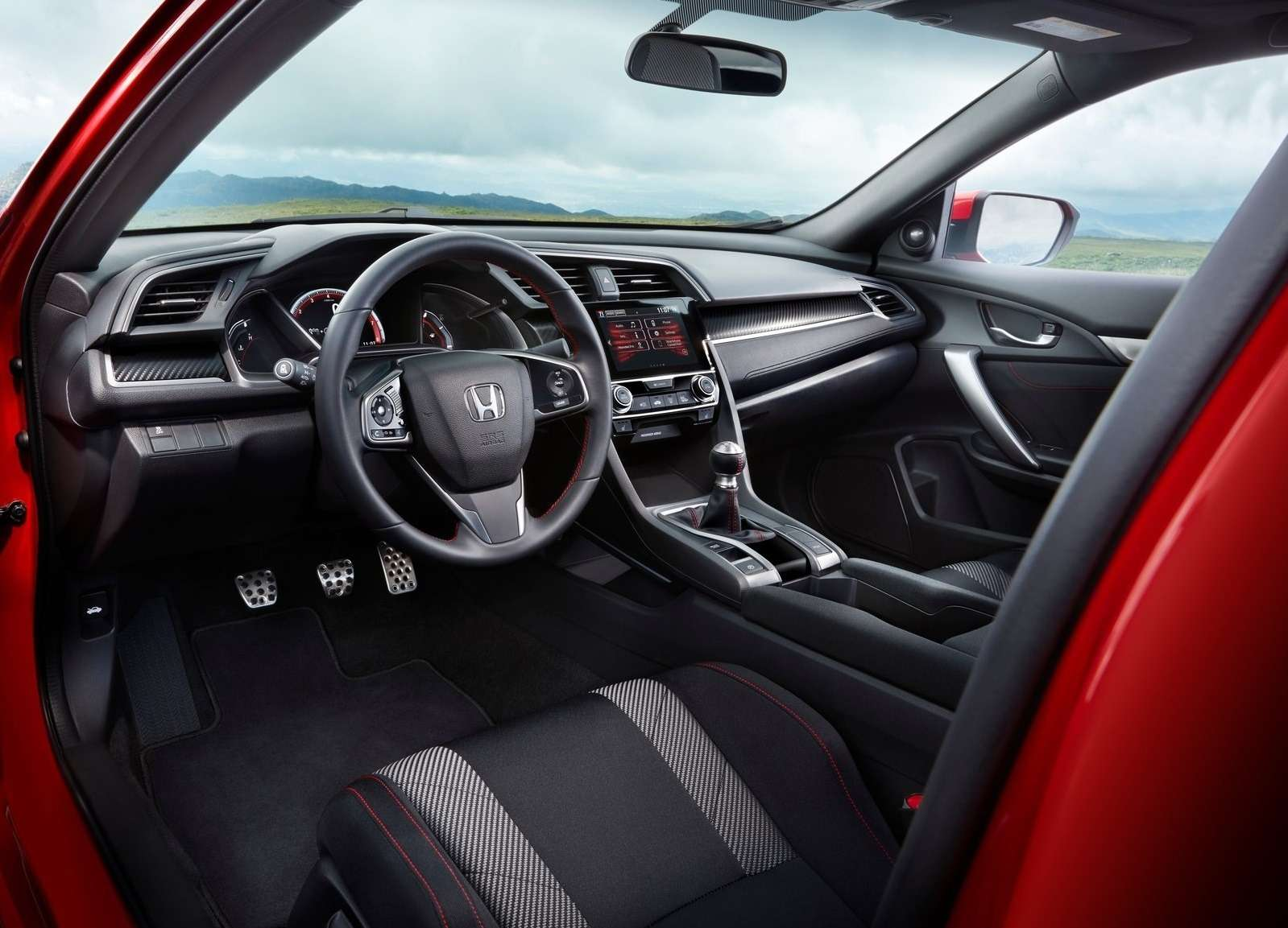 Трехпедальный наддувный: Honda засветила новый Civic Si— фото 733334