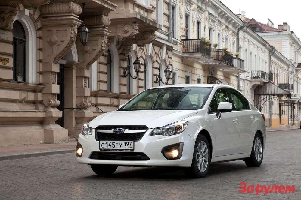 Subaru Impreza sedan 2012_02