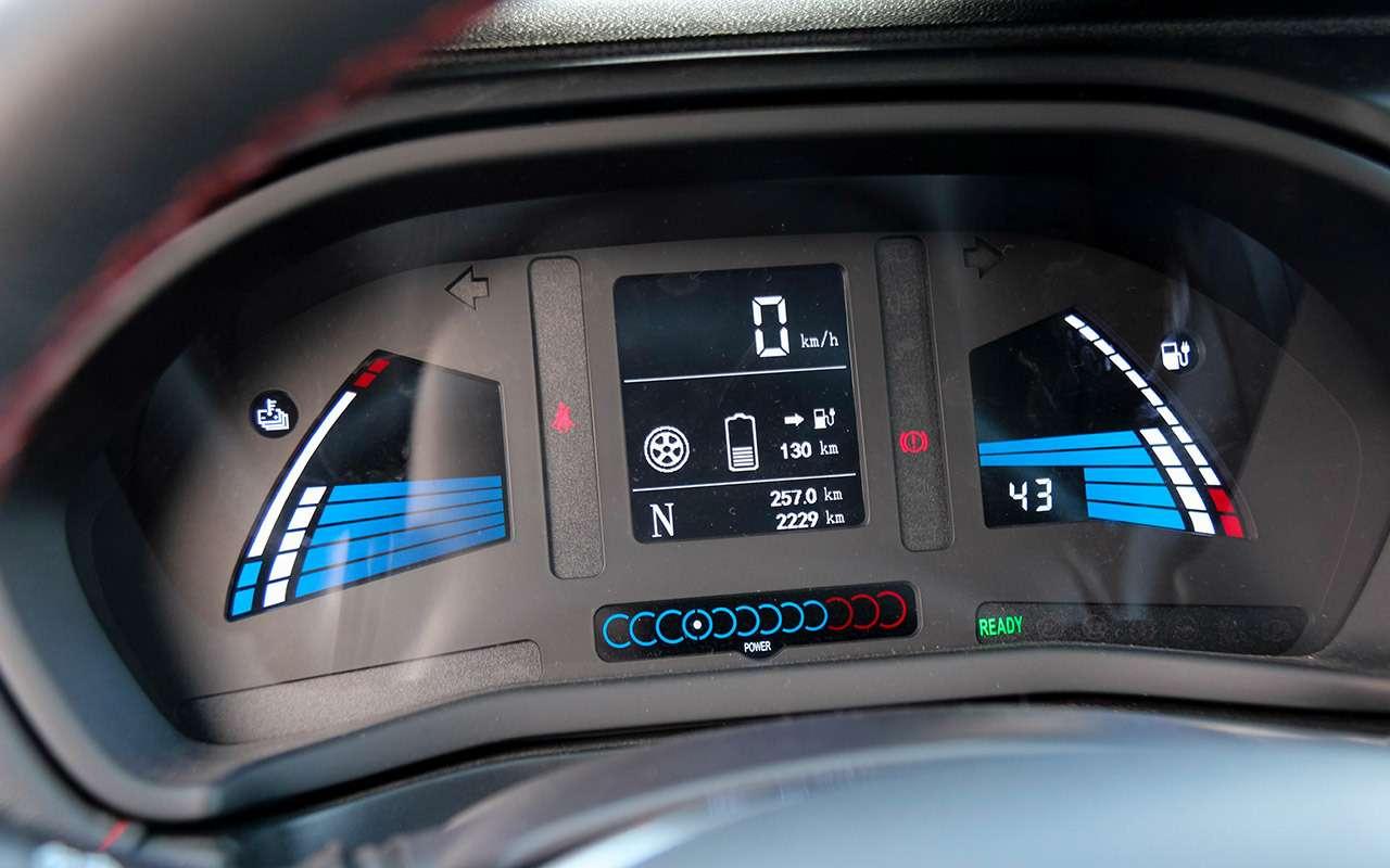 Самый дешевый электромобиль: тест нового китайца - фото 1198928