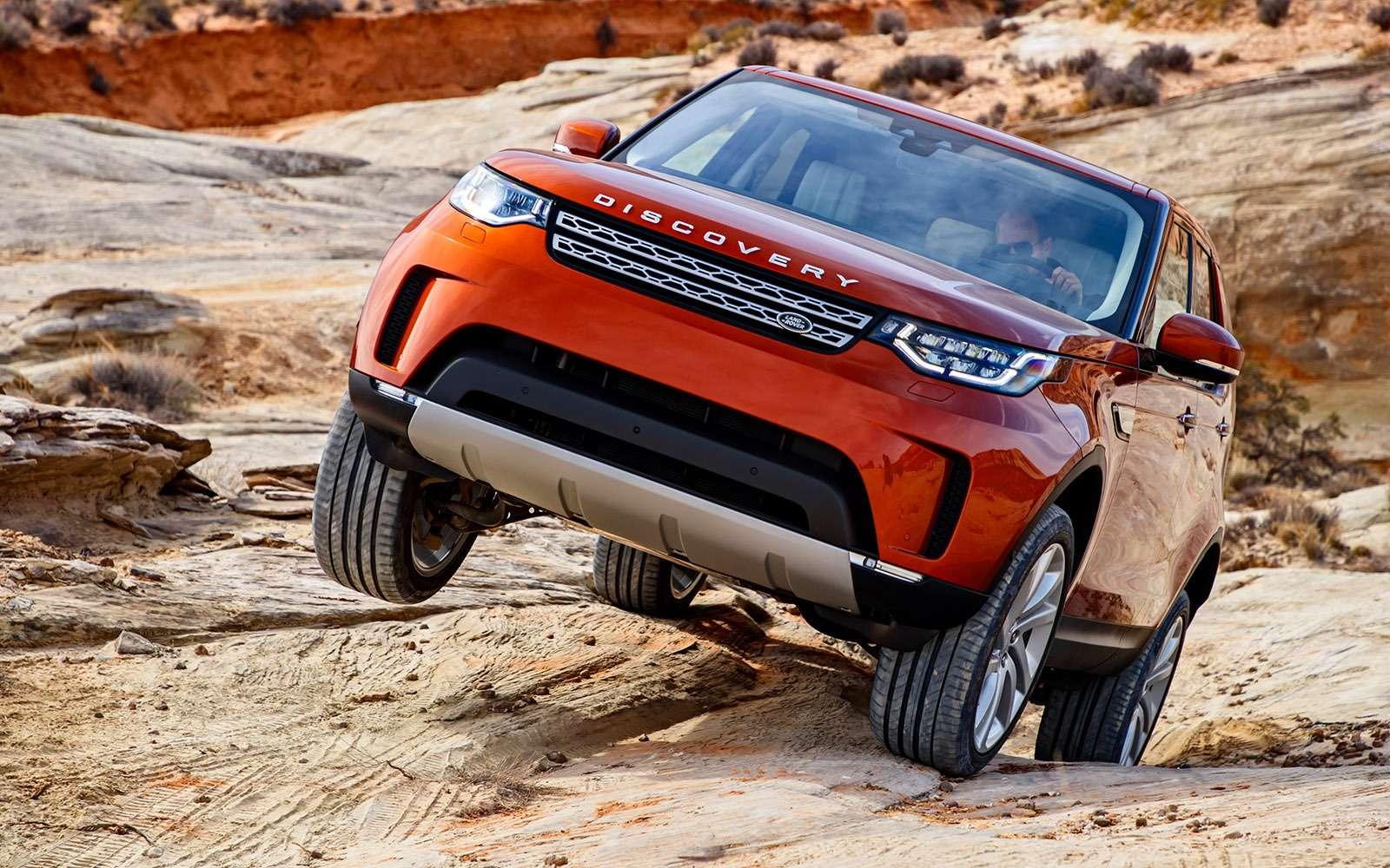 Новый Land Rover Discovery: первый тест— фото 736872