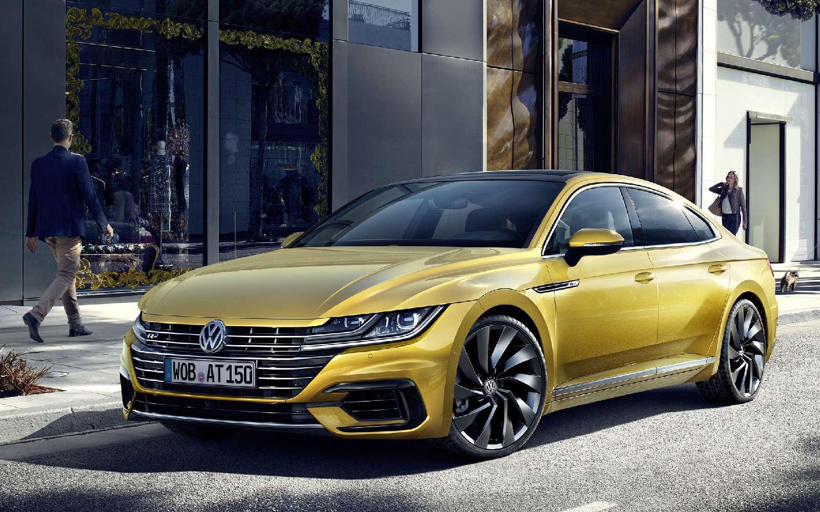 Volkswagen Arteon: это вам не Це-Це!— фото 717143