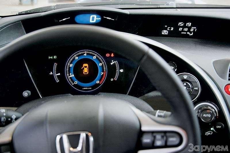 Тест Peugeot 307, Honda Civic. Берегитесь, лентяи!— фото 66522