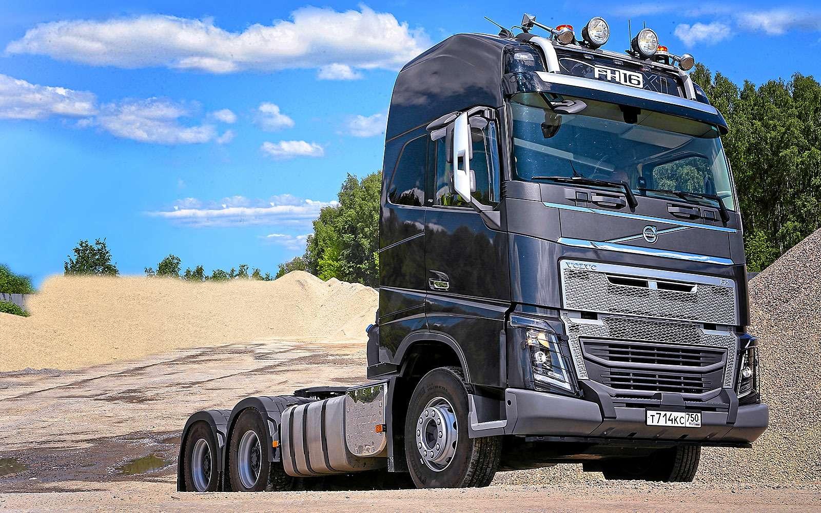 Новый тягач Volvo FH16: подконкретные задачи— фото 623284