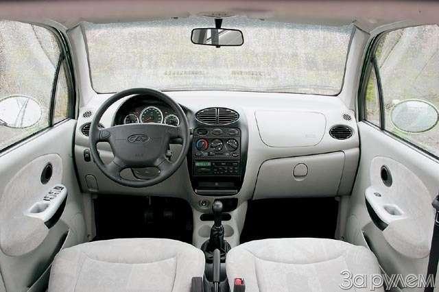Тест Chery QQ, Daewoo Matiz, Chevrolet Spark. Тройняшки— фото 61117