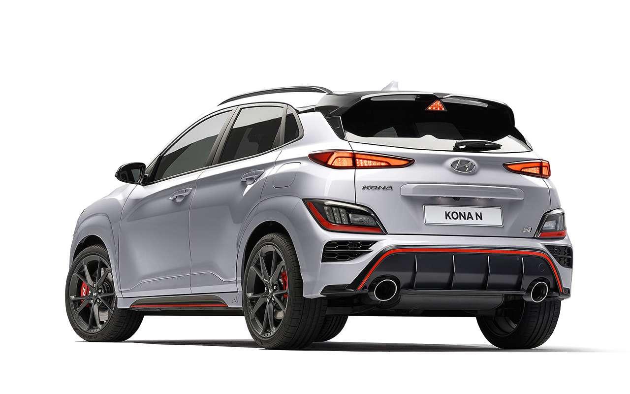 Дебют Hyundai Kona N— первого семейного спорткросса— фото 1242500