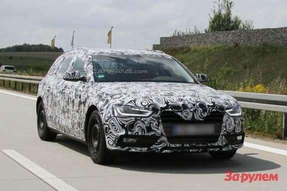 Audi A4Avant side-front view