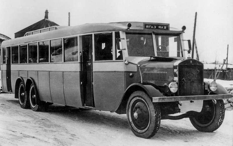 Таких автобусов мыне видели!— Гигант ЯА‑2