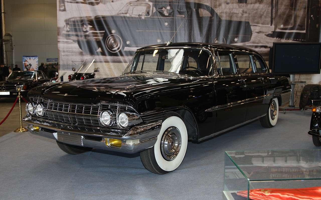 100 миллионов! Топ-10 самых дорогих советских автомобилей - фото 1160216