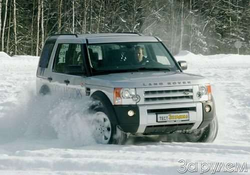 Тест Nissan Patrol, Land Rover Discovery 3, Volkswagen Tuareg. Век нынешний ивек минувший?— фото 55029