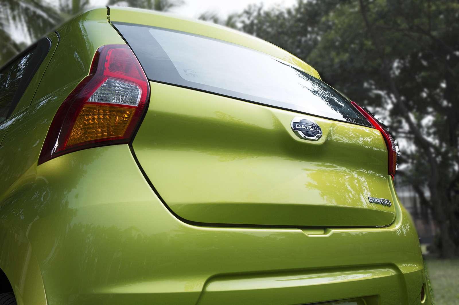 Datsun официально представил высокий хэтчбек redi-GO— фото 575653