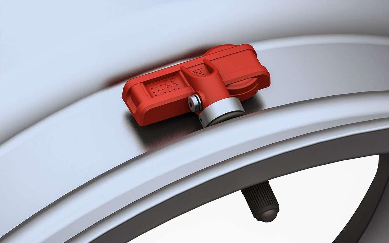 Системы контроля задавлением в шинах — как они устроены — фото 1149781