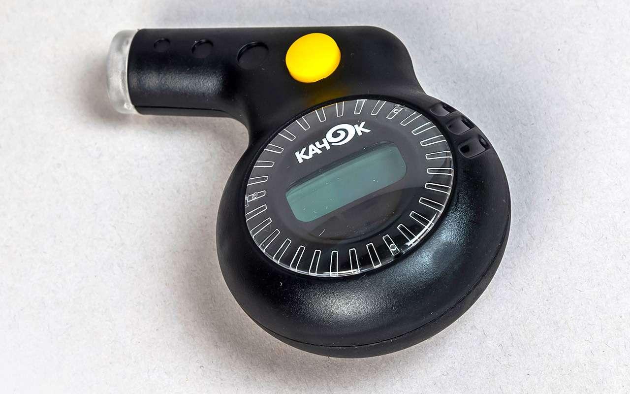 Выбираем шинный манометр— подешевле ипоточнее— фото 900985