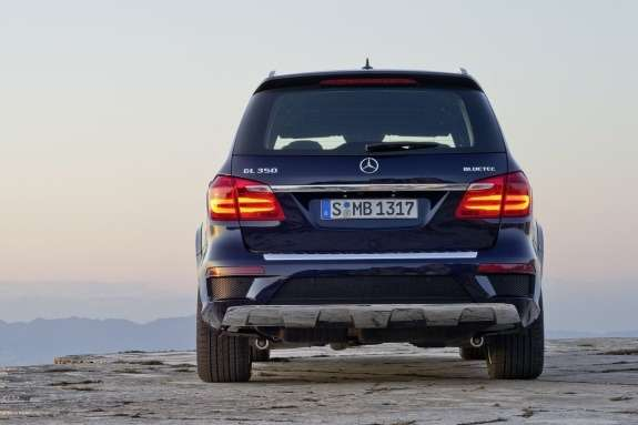 Mercedes-Benz GL-class AMG-pack rear view