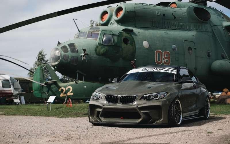 Латыши знают толк: BMW 2-й серии превратился в…истребитель