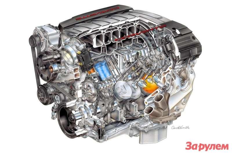 Chevrolet Corvette C7Small Block LT11