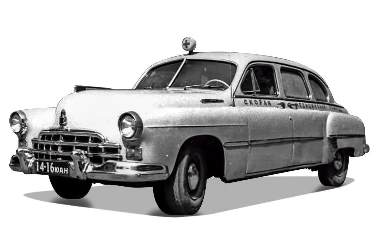 Уникальная Победа ГАЗ-М20: ретротест машины cкорой помощи— фото 1085338