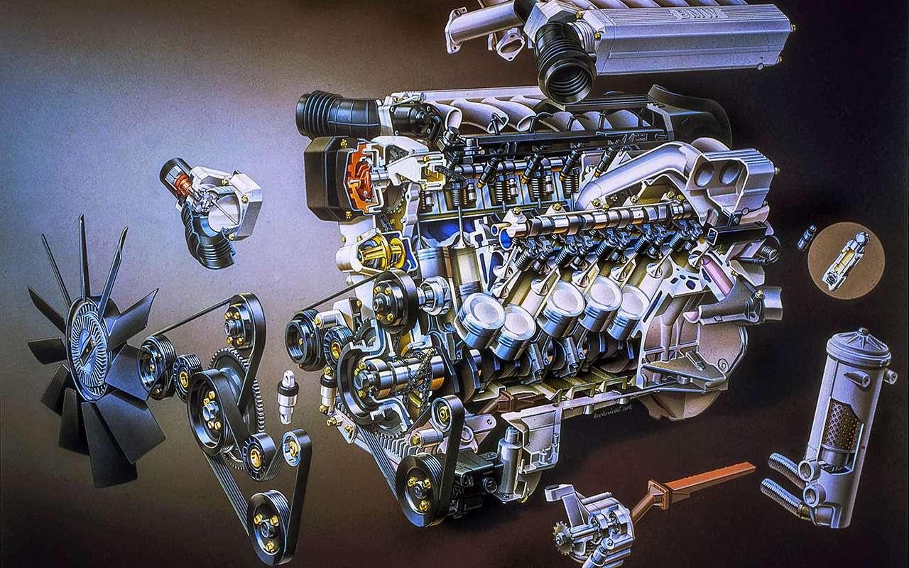 Самые большие моторы отV12до W18: полная история— фото 1085971