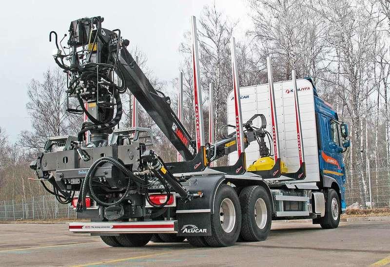 Лесовозный тягач DAF XF: сделан дляРоссии