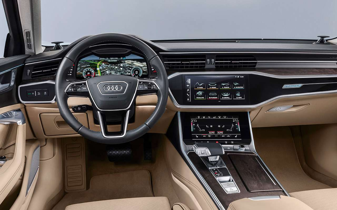 Новый Audi A6: что онвзял устарших?— фото 859130