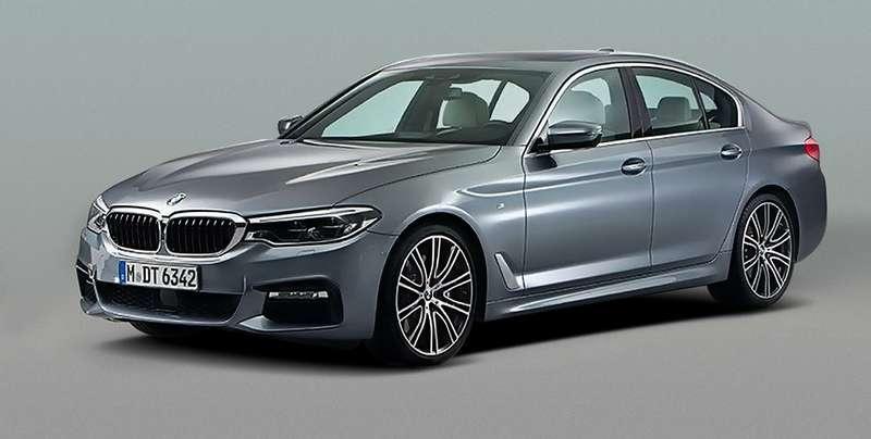 Новая «пятерка» BMW показала себя миру