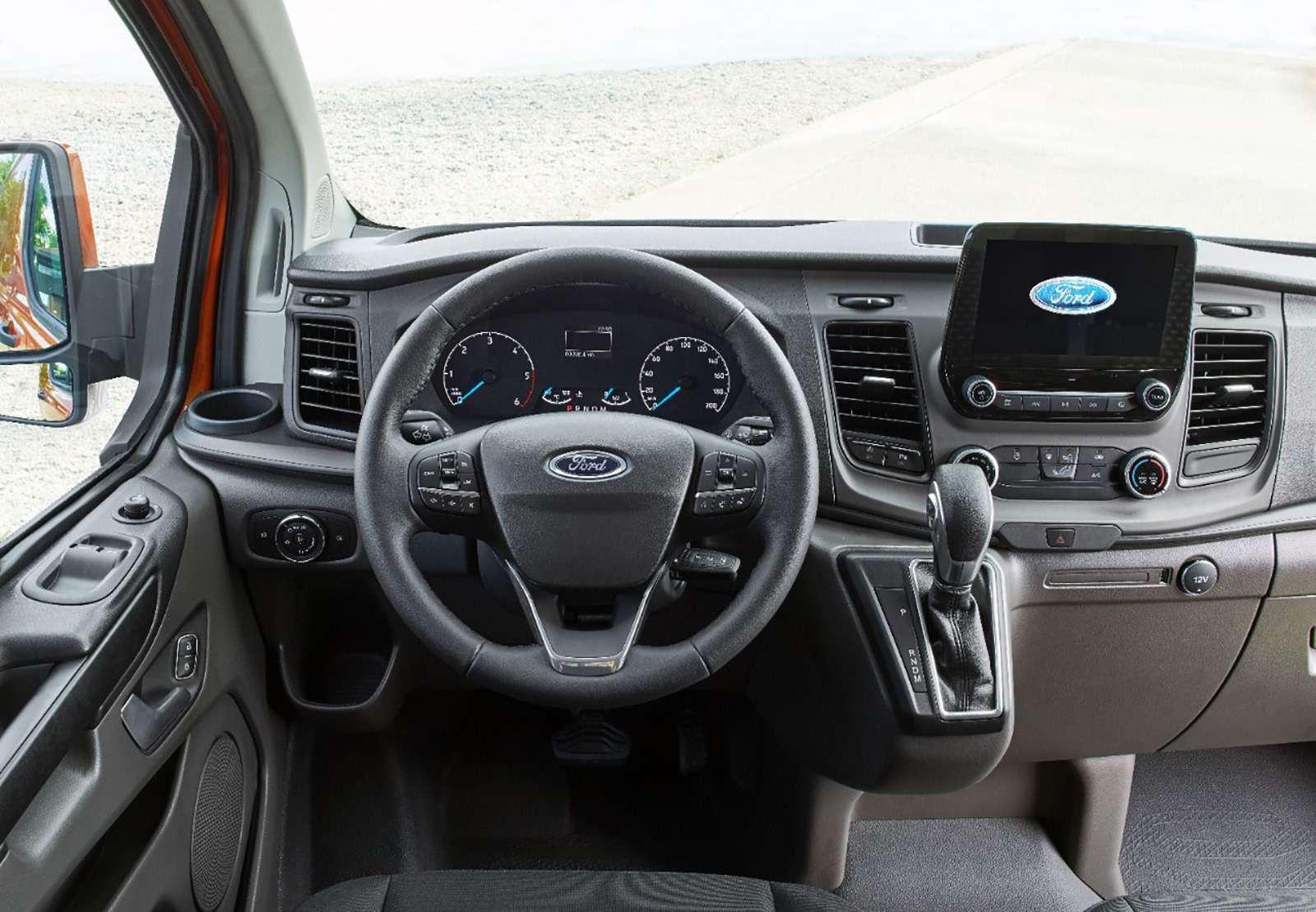 Ford показал обновленный «однотонник». Ждем вРоссии— фото 774378