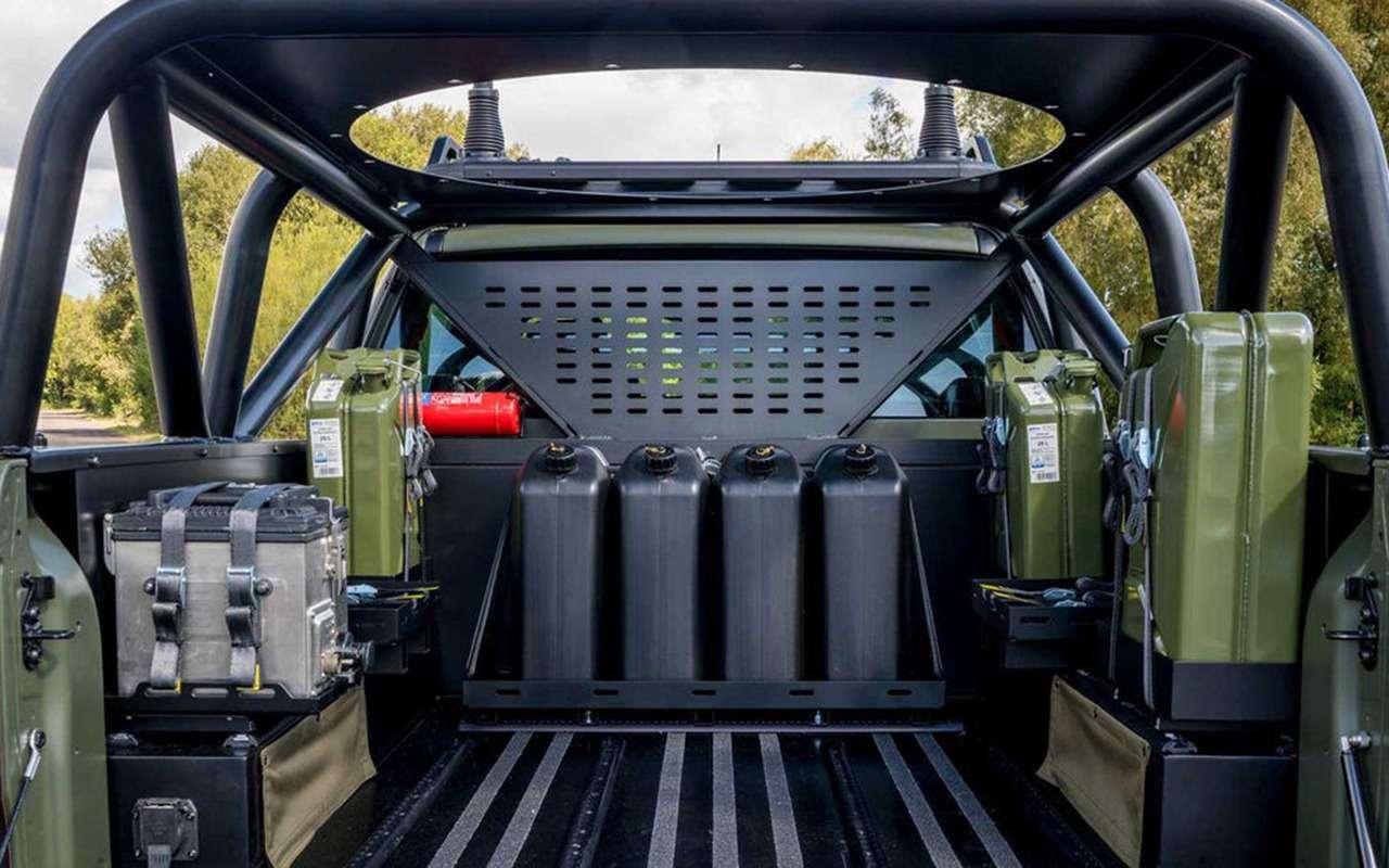 В стиле милитари: Ford Ranger переделали дляармии— фото 1003982