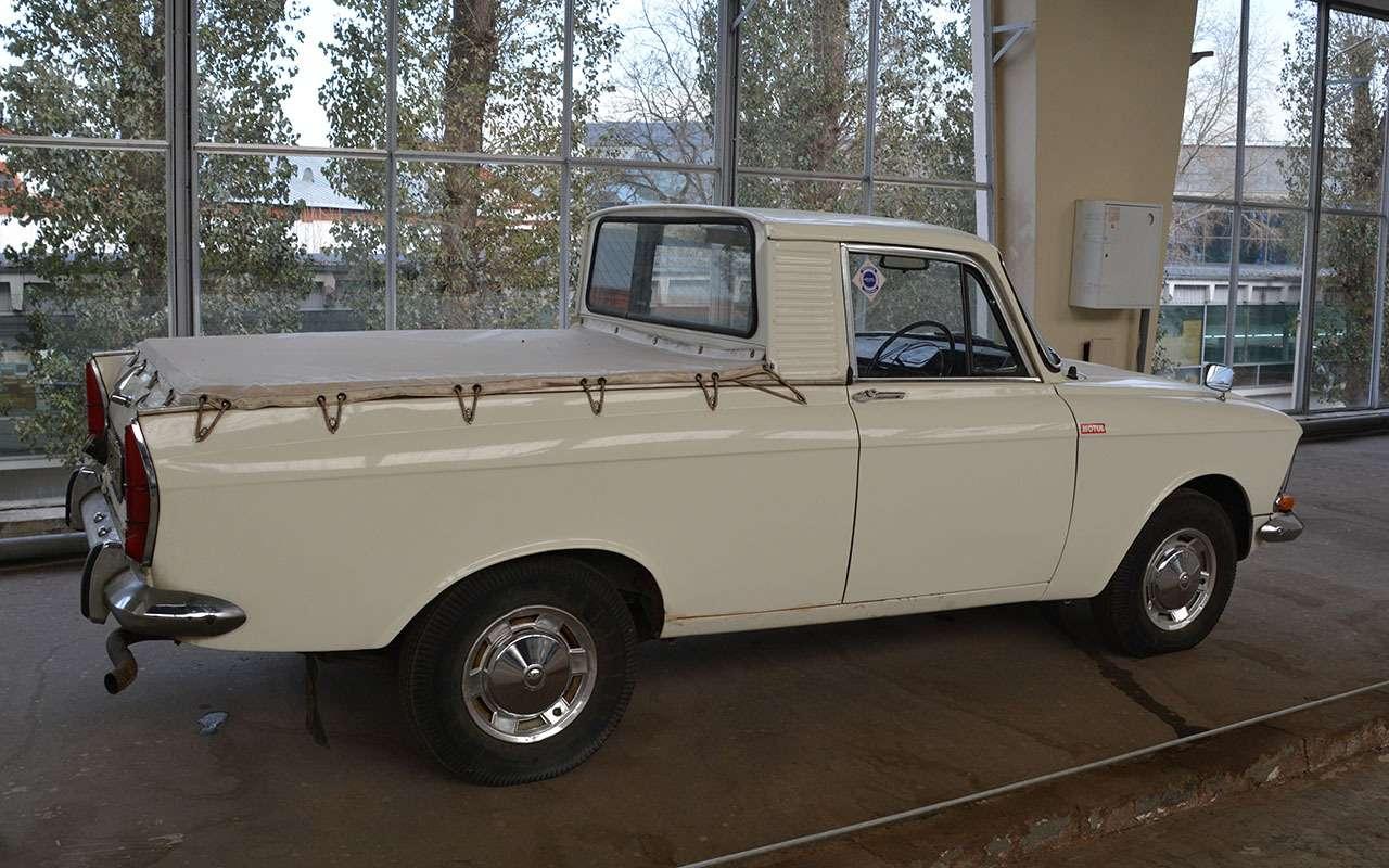 Уникальные версии Москвича-412: пикапы, спорткупе, хэтчбеки— фото 1053238