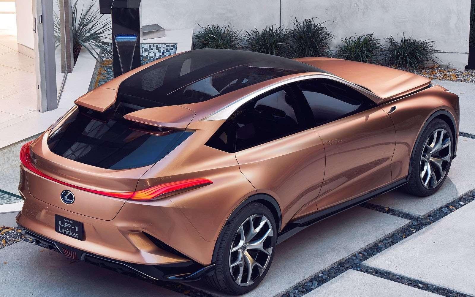 Lexus показал свой будущий флагманский кроссовер— фото 836194