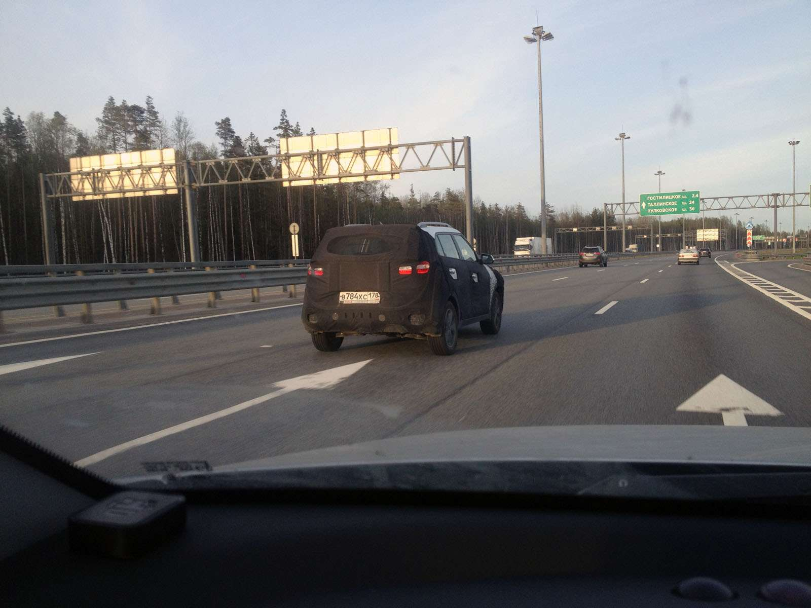 Hyundai Creta засекли наКАДе вСанкт-Петербурге— фото 586032
