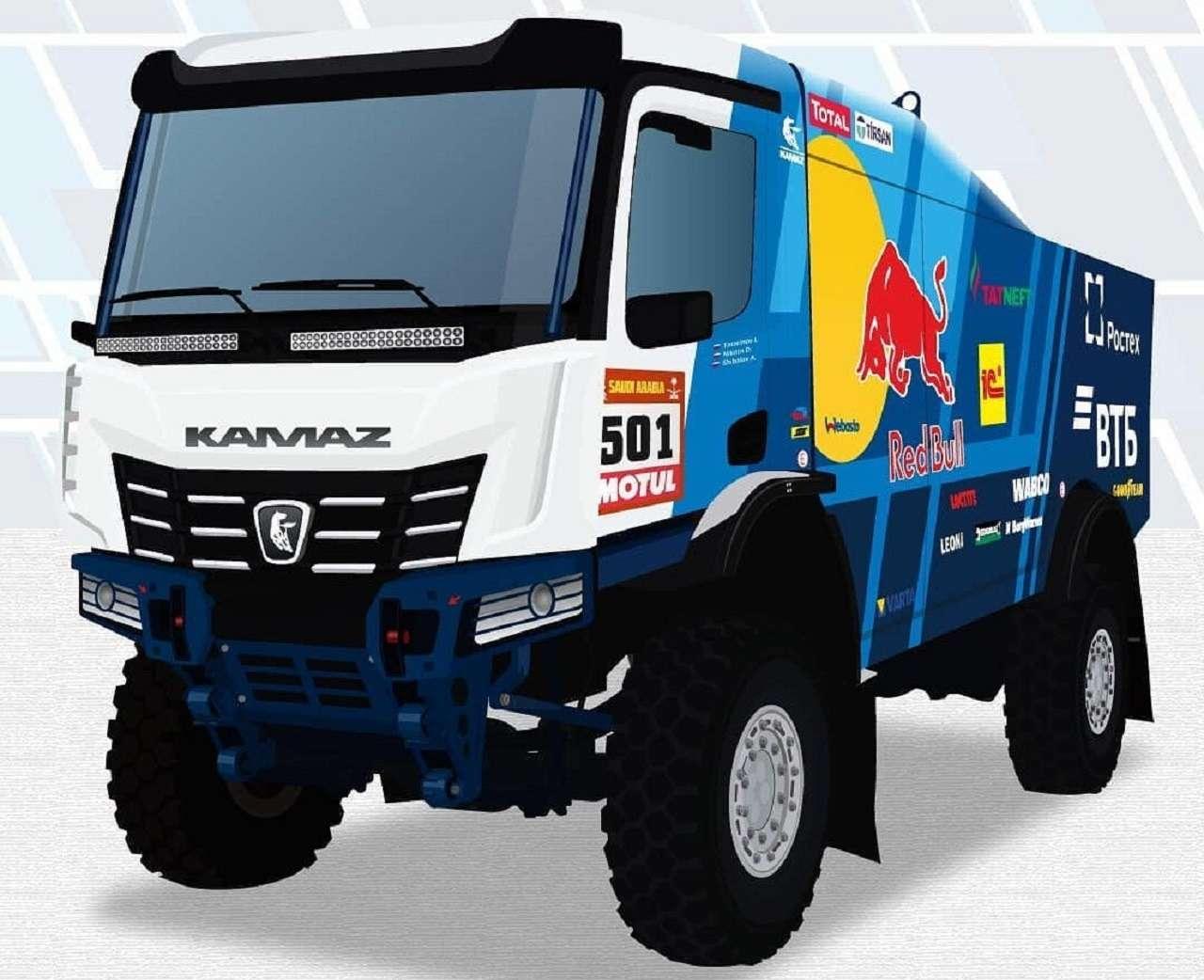Новый грузовик «КАМАЗ-мастер»: первые изображения— фото 1237576