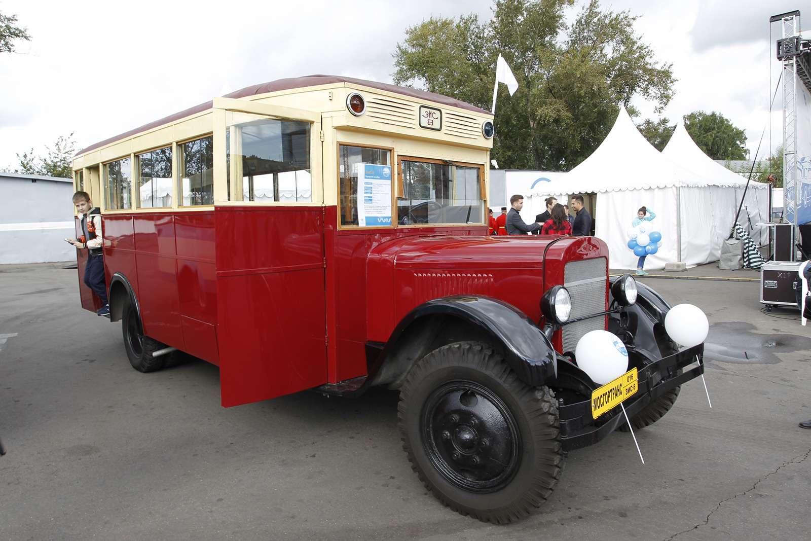 Автобусы нашего детства— выставка пассажирского транспорта— фото 792649