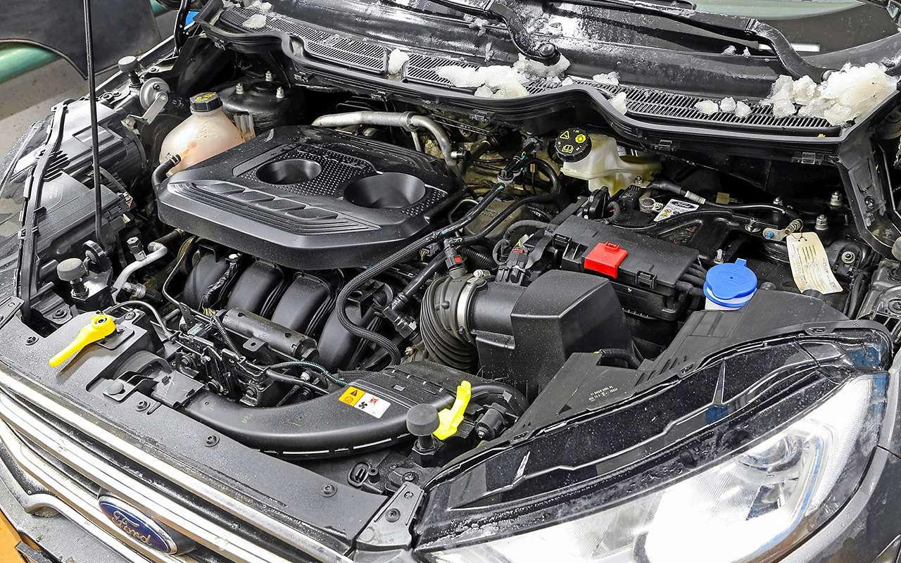 Ford EcoSport после 16500км: все досадные мелочи— фото 961611