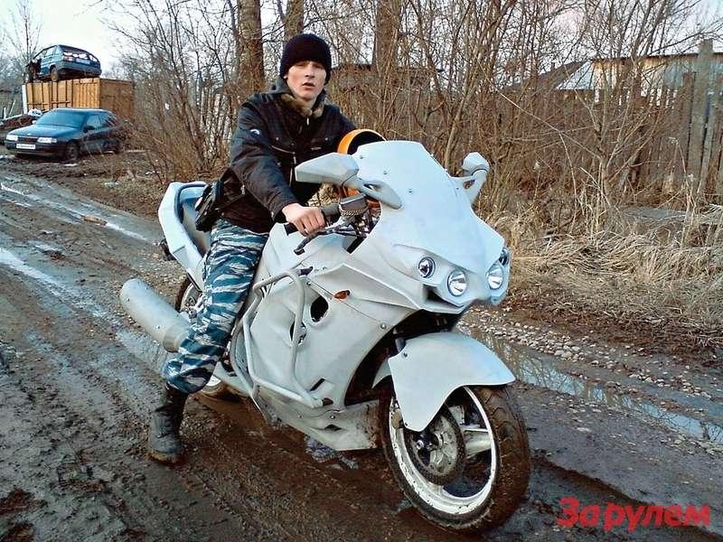 Как сделать обтекатель для мотоцикла своими руками