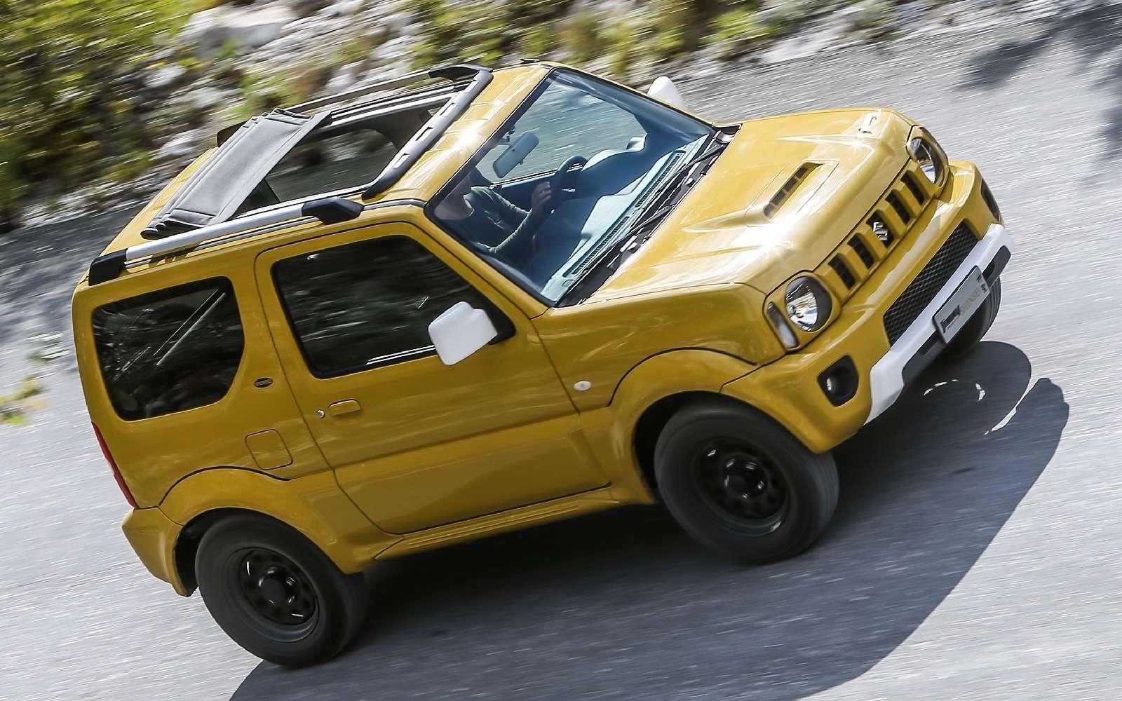 Святая простота: вышла спецверсия вседорожника Suzuki Jimny— фото 650248