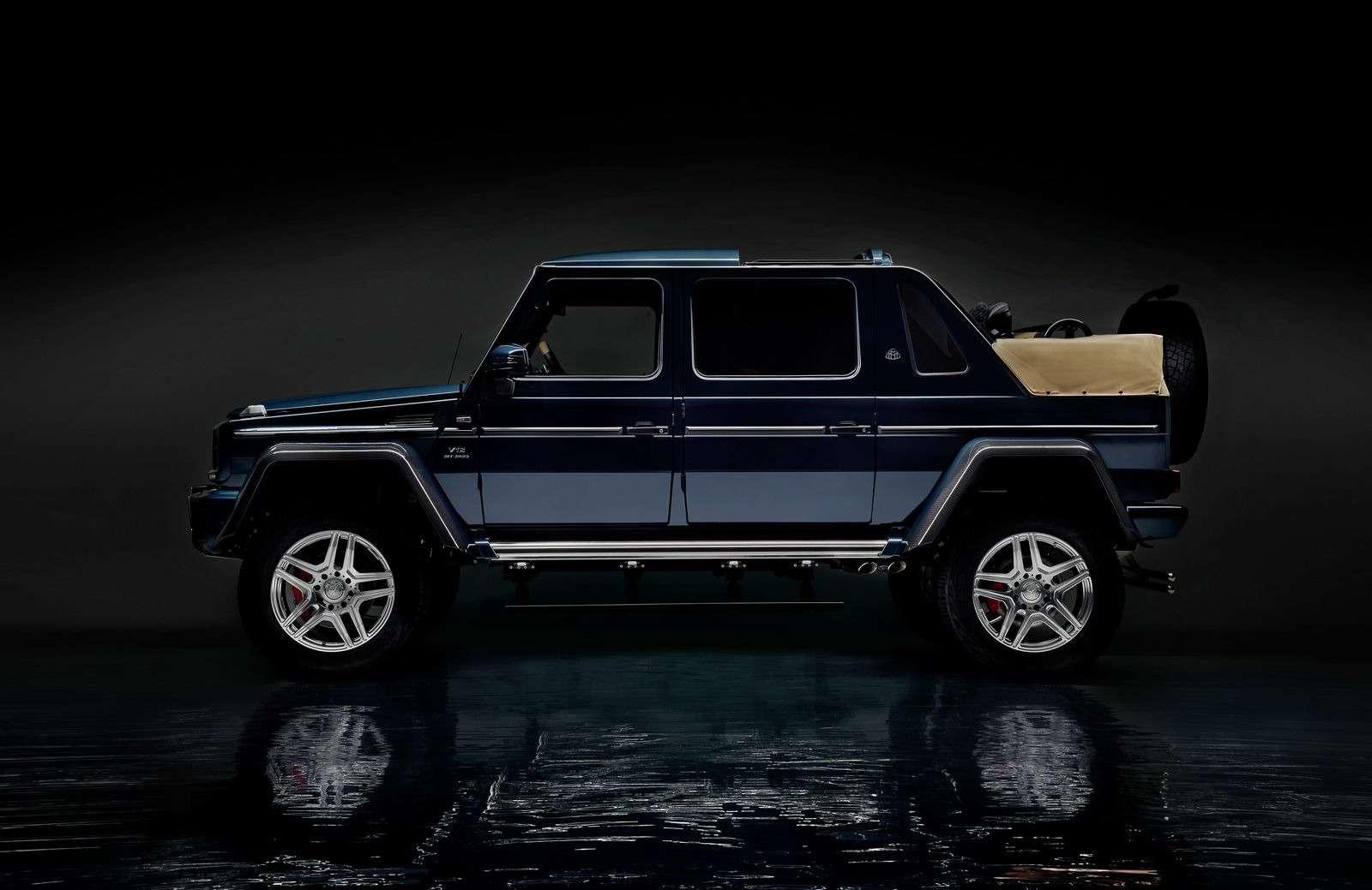Mercedes-Maybach представил люксовый кабриолет G-класса— фото 706746
