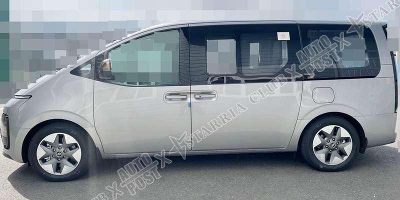 Hyundai Staria: первые «живые» фото идвигатели