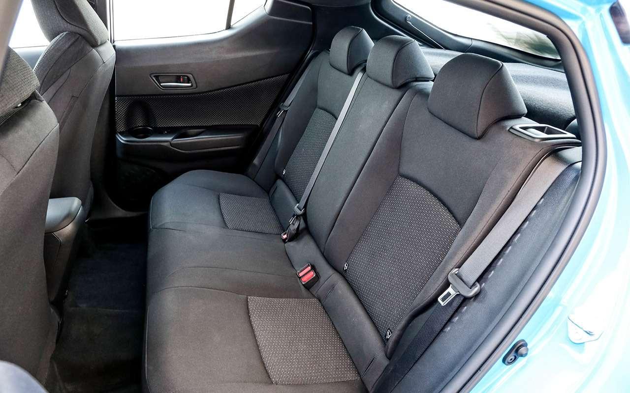 Большой тест стиляг: Toyota C-HR, Citroen C3Aircross иновый Kia Soul— фото 990477