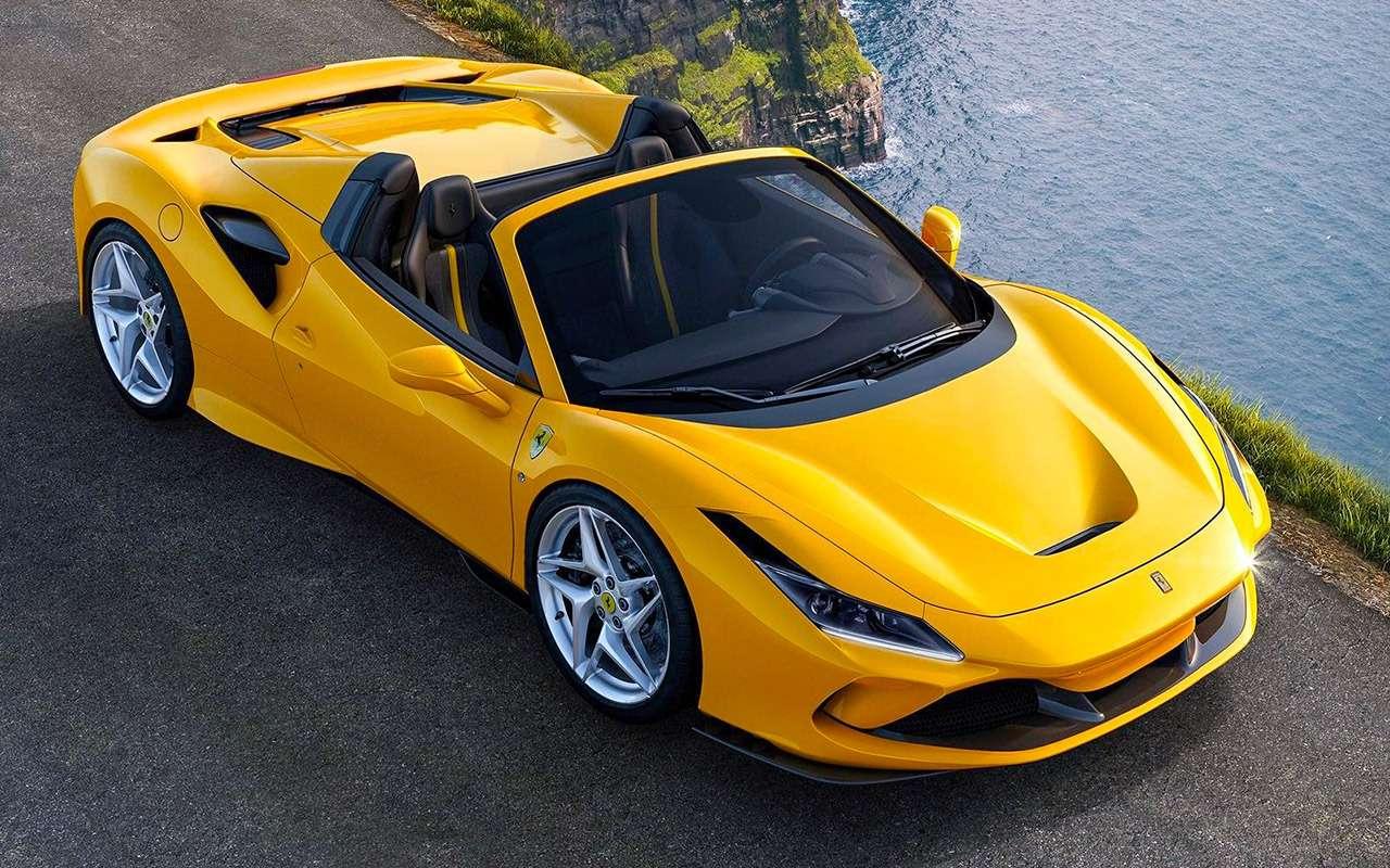 16, 17,5, 19,4 миллиона— новинки Ferrari вРоссии— фото 1205143
