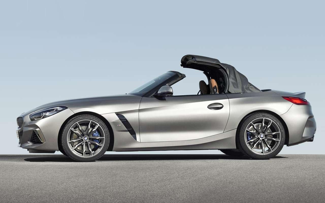 Новый BMW Z4: российские цены икомплектации— фото 908908