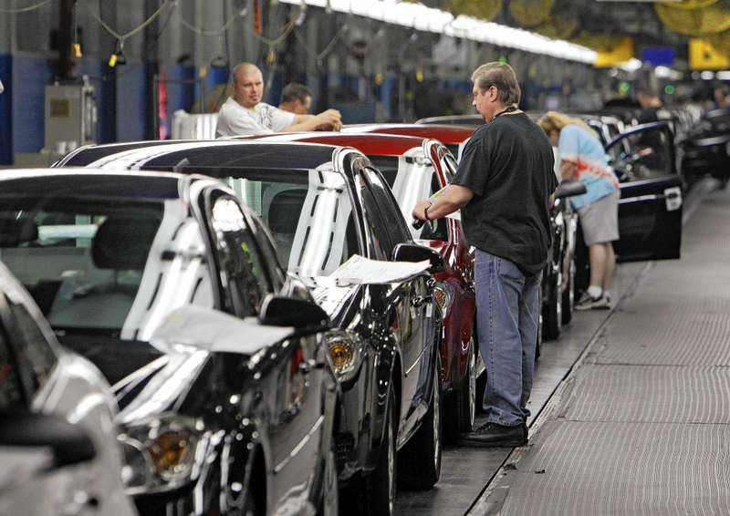Сборка автомобилей Chevrolet