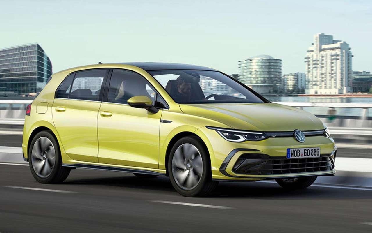 Новый Volkswagen Golf: запланированная «утечка» доофициальной премьеры— фото 1004393