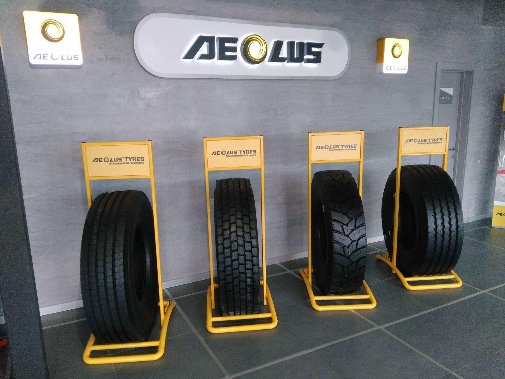 «Петромакс» и Aeolus Tyre: 17 лет продаж грузовых шин в России - фото 994473