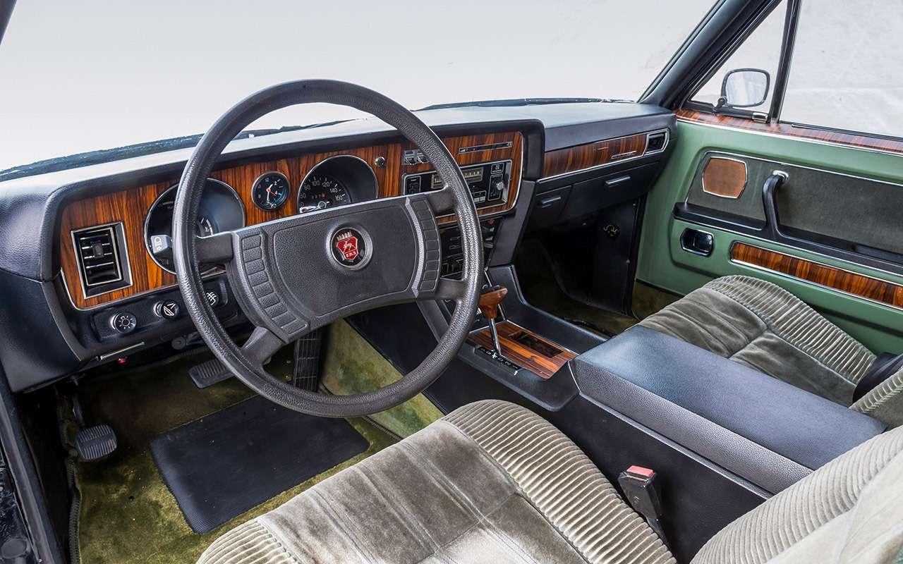 Чайка ГАЗ-14и ееамериканские «уши»— фото 1274124